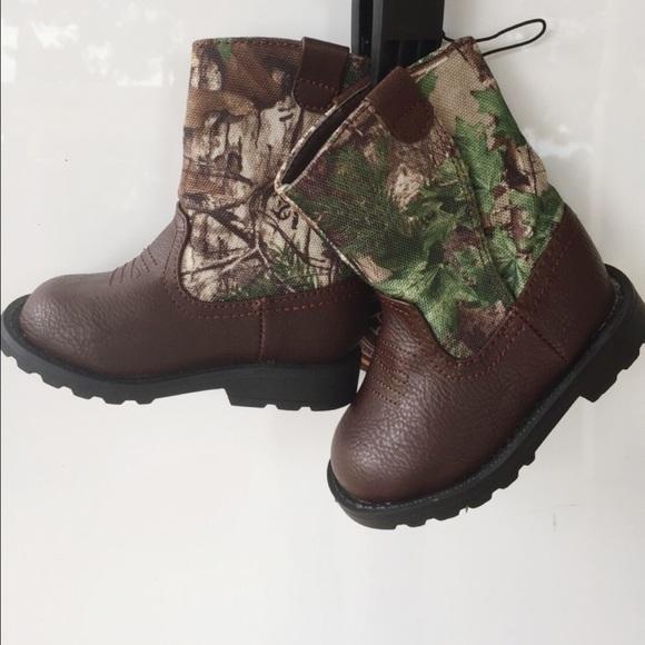 Healthtex Babyinfant Camo Velcro Boots